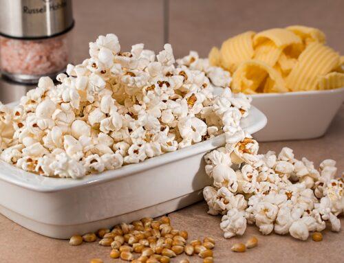 ätherische Öle in der Küche – gesundes Popcorn