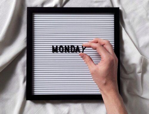 Montag!? Zeit für deinen Diffuser…